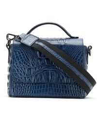 d9809dbf12 Metrocity Quilted Leather Shoulder Bag in Black - Lyst
