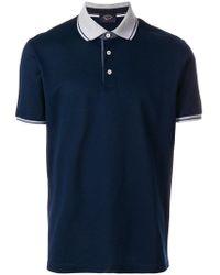 Paul & Shark | Short Sleeved Polo Shirt | Lyst