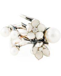 Shaun Leane - 'cherry Blossom' Diamond Ring - Lyst