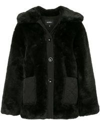 Goen.J - Oversized Faux-fur Jacket - Lyst