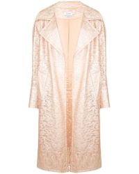 Yigal Azrouël - Lace Trench Coat - Lyst