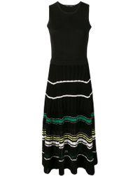 Proenza Schouler - Striped Rib Dress - Lyst