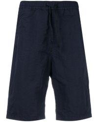 Stone Island - Elastic Waist Shorts - Lyst