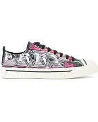 Burberry - Lf Kingly L Low Snk Acgvm Sneaker Logo - Lyst