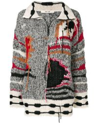 Damir Doma - Colour-block Embroidered Sweater - Lyst