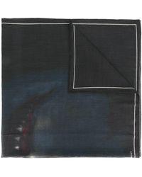 Givenchy Rottweiler Print Scarf - Black