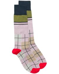 Marni - Checked Socks - Lyst
