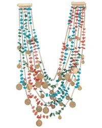 Rosantica - Layered Medallion Necklace - Lyst