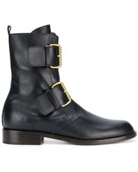 Michel Vivien - Emerance Buckled Ankle Boots - Lyst