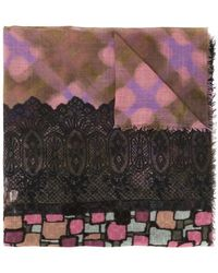 Pierre Louis Mascia - Abstract Print Scarf - Lyst