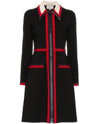 6b82ddd5c Gucci - Zipped Jersey Dress - Lyst