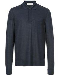Cerruti 1881 - Long Sleeve Polo Shirt - Lyst