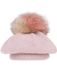 Miu Miu - Pom Detail Hat - Lyst