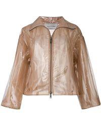 Valentino - Transparent Rain Coat - Lyst