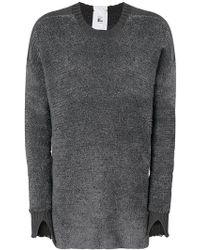 Lost and Found Rooms - Slit Cuff Sweater - Lyst