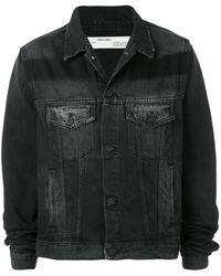 Off-White c/o Virgil Abloh Exaggerated Denim Jacket