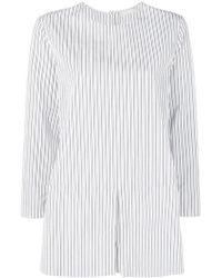 Max Mara - Striped Tunic Shirt - Lyst