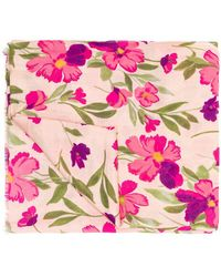 Twin Set - Floral Scarf - Lyst