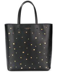 c96f2fa13677 Lyst - Tory Burch Star Stud Small Tote (black) Tote Handbags in Black