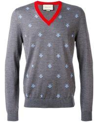 Gucci - Intarsia Sweater - Lyst