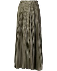 Dusan - Metallic Pleated Skirt - Lyst