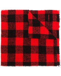 Z Zegna - Checked Scarf - Lyst