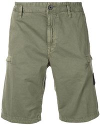 55c6295298 Stone Island Mens Patch Swim Shorts Green, Green in Green for Men - Lyst
