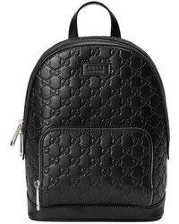 b9138e5c321a Gucci - Signature Leather Backpack - Lyst