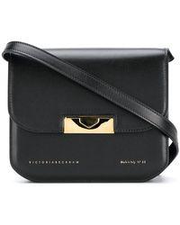 Victoria Beckham - Eva Foldover Crossbody Bag - Lyst