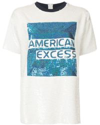 Ashish - Sequined Cotton-jersey Top - Lyst