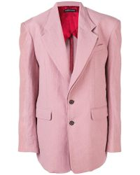 Y. Project - Oversized Double Layer Blazer - Lyst