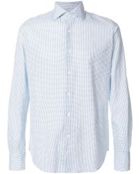 Glanshirt - Dotted Cotton Blend Shirt - Lyst
