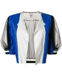 Aviu - Colour-block Fitted Jacket - Lyst