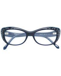 Roberto Cavalli - Cat Eye Framed Glasses - Lyst