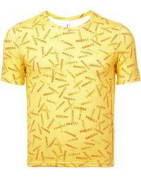 Adam Selman - Banana Split T-shirt - Lyst