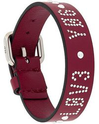 RED Valentino - Qq0j0a73fwi Ia7 Furs & Skins->calf Leather - Lyst