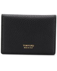Tom Ford - Textured Leather Wallet - Lyst