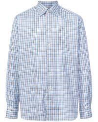 Eton of Sweden - Checked Button Shirt - Lyst