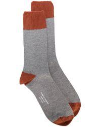 Comme des Garçons | Colour Block Socks | Lyst