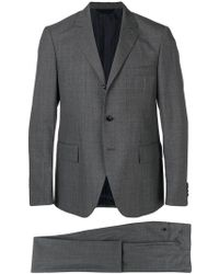 Mp Massimo Piombo - Prince Of Wales Check Suit - Lyst
