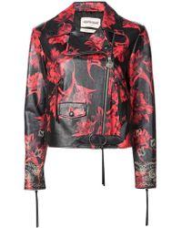 Roberto Cavalli - Floral Print Jacket - Lyst