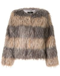 f1b7e693e824 Unreal Fur Short And Sweet Jacket in Black - Lyst