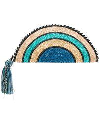 Rebecca Minkoff | Handbag Straw Circle Xbody | Lyst