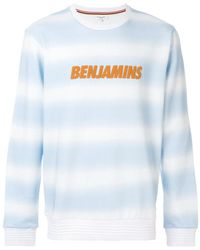 Les Benjamins - Logo Print Sweatshirt - Lyst