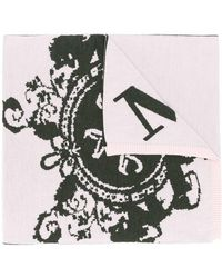Mr & Mrs Italy - Logo Knitted Scarf - Lyst