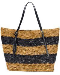 Polo Ralph Lauren - Striped Tote Bag - Lyst