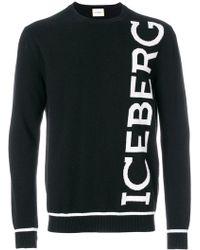 Iceberg - Logo Knit Jumper - Lyst