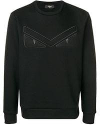 Fendi - Eyes Sweatshirt - Lyst
