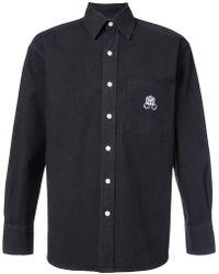 Enfants Riches Deprimes - Logo Embroidered Shirt - Lyst