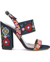 Tabitha Simmons - Senna Festival Embroidered Sandals - Lyst